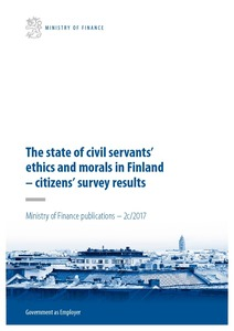 the state of civil servants ethics and morals citizens survey